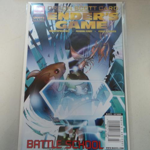 MARVEL Limited series Ender's game Battle School bagged/boarded #3