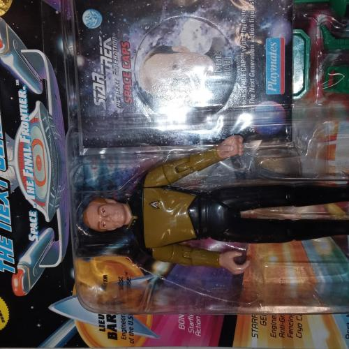 Star trek the next generation Lt. Barclay 1994 action figure