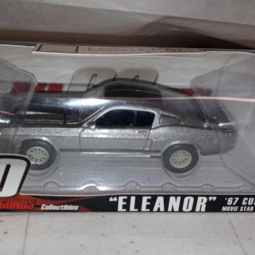 Greenlight collectibles Gone in 60seconds Eleanor 1967 mustang fastback