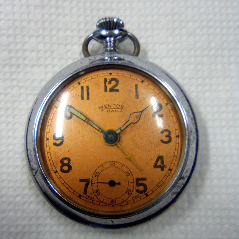 Mentor 7 jewels pocket watch non-working