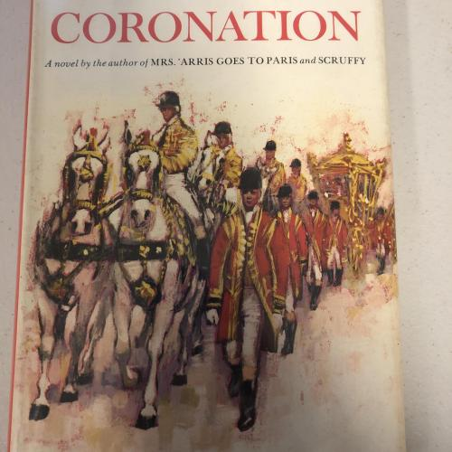 Paul Gallic coronation 1962 signed
